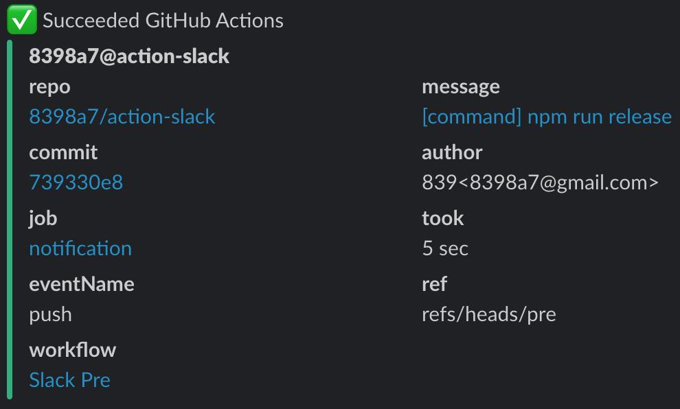 Action Slack
