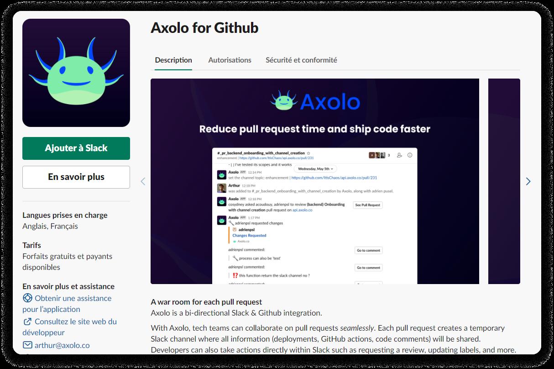 Axolo documentation