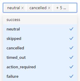 GitHub action status